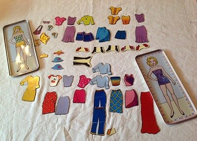 """""""Lee Publications"""" Collectible Magnetic Paper Doll Set W/Clothing & Accessories"""