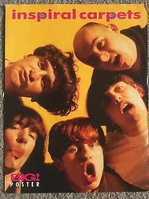 INSPIRAL CARPETS - full page magazine poster