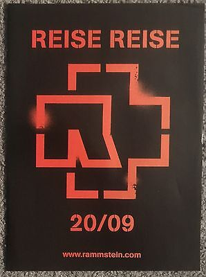 RAMMSTEIN - REISE REISE 2009 full page UK press ad