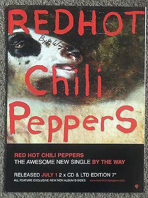 RED HOT CHILI PEPPERS - BY THE WAY 2002 full page UK press ad