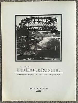 RED HOUSE PAINTERS - 1993 full page UK press ad 4AD