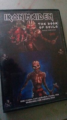 Iron Maiden Concert DVD Fort Lauderdale Florida USA The Book Of Souls Tour