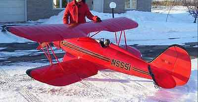 "50% Scale WACO UPF-7  184 inch wing span"" Giant Scale RC AIrplane Printed Plans"