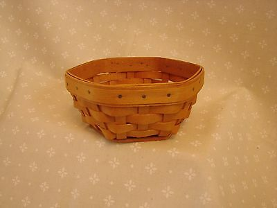 SAGE Hostess Only Booking Collection Basket Longaberger *NEW