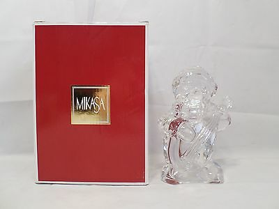 FROSTY'S CHOIR by MIKASA Lead Crystal Figurine SN 272/928 Germany In Box