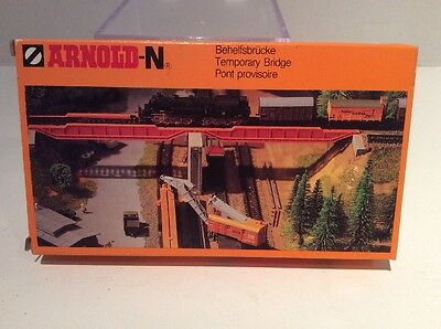 Arnold N Scale Temporary Train Bridge - Ships Free