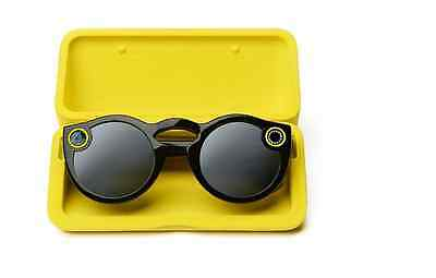 Original New Snapchat Spectacles Glasses SC Ghost All Triple Black Pop Up