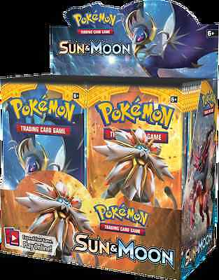 3 Pokemon Tcg Sun And Moon Booster Packs Sealed