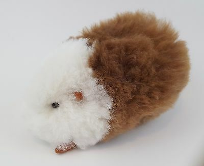 Handmade Peruvian Stuffed Guinea Pig with Alpaca Fur