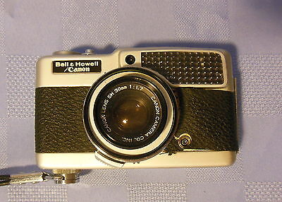 Demi S, Bell & Howell/Canon 35mm Camera, Canon SH 30mm 1:1.7 Lens * For Parts?*