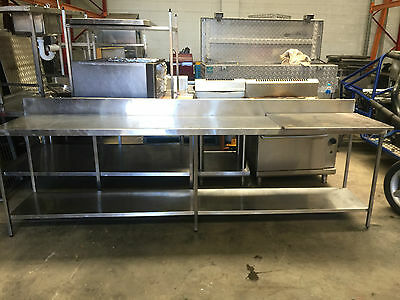 Stainless Steel  Prep Bench  Excellent Condition