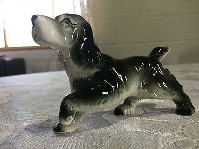 Group of 3 dog figurines