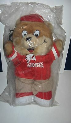 2005 SHONEY'S Teddy Bear NEW Sealed in Package