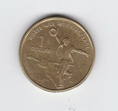 2005 Australia $1 Coin World War 1939-1945 Peace G-180