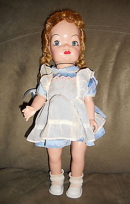 Doll Terri Lee Competition MARY JANE Alice Blond Braids Tagged 1950s