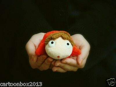 """Anime PONYO 4"""" Plush Doll By The Cliff Soft Toy  totoro free shipping"""