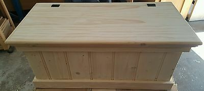 Toybox, pine, aussie made. solid timber. Can deliver. Store those xmas toys!
