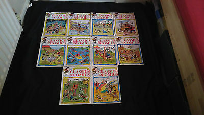 Classics From the Comics X 10 Vintage Beano,Dandy,Topper,Beezer Etc