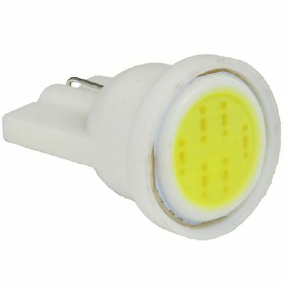 Weiße LED T10 W5W COB-Chip Glassockel Lampe WEISS Auto Innenraum Beleuchtung