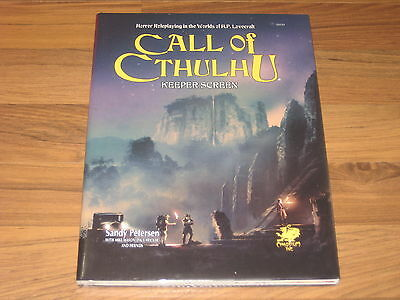 Call of Cthulhu 7th Edition Keeper Screen Hardcover Chaosium Inc. New Sealed
