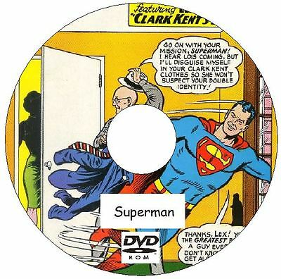 Superman Classic Vintage Comic Collection 423 Issues plus bonuses on 2 DVDs