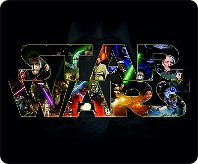 Star Wars Logo and Images Mouse Mat