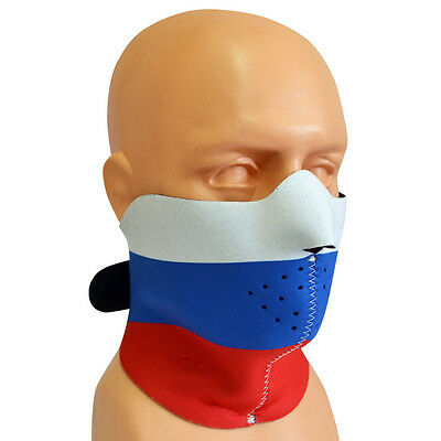 Half Face Mask Cycling Bicycle Bike Motorcycle Racing Ski Filter Sport Russia