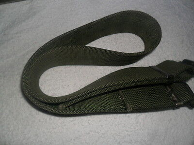 British Army-Issue Working Dress Olive-Green Belt.