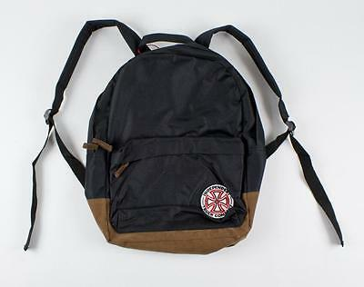 SALE - INDEPENDENT Truck Co / Skateboard Backpack - Black / Brown Bag