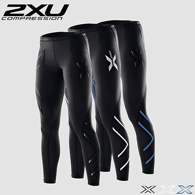 Womens Gym Workout Compression Pants 2XU Tights Sport Jogging Breathable Elastic