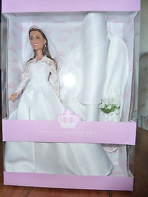 Princess Catherine ( Kate Middleton) 2011 Limited Edition Wedding Doll