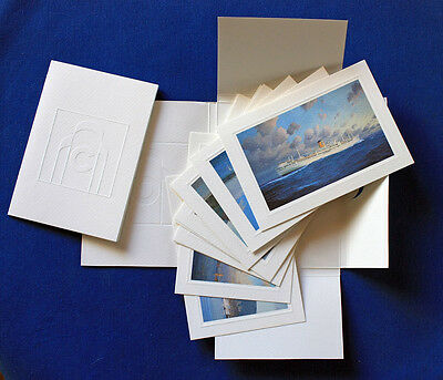 Rare collector 10-postcard set COSTA liners by STEPHEN J. CARD Limited Edition
