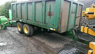 BAILEY 12 TON TRACTOR  LIFT OFF SIDES TIPPING TRAILER No Vat