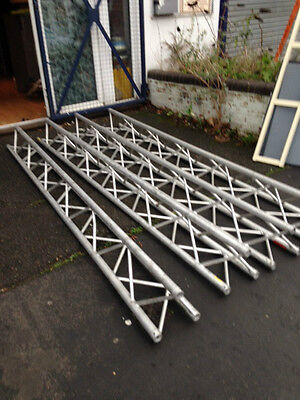 Slick litebeam truss 4 x 3 metre sections with pins & R clips