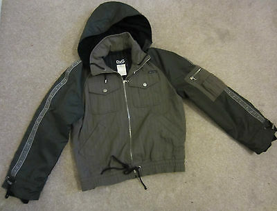 mens dolce&gabbana  lined /padded  winter jacket/coat  size uk small