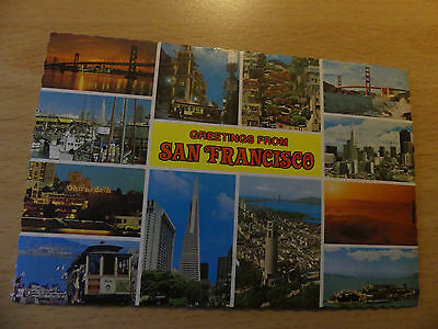 Greetings from San Francisco Postcard B6720
