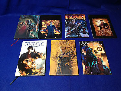Angel Graphic Novels - After the Fall Volumes 1-5 (HC), Spike (HC) + Only Human