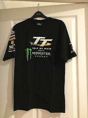 Isle of Man TT officials 2016 tshirt large
