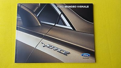 Ford Mondeo Vignale 4 door & Estate official paper brochure May 2015 MINT