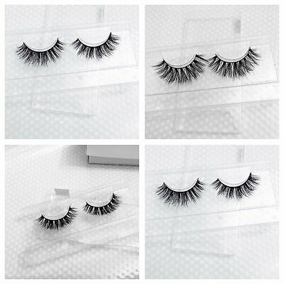 Luxury 100% Luxury 3D Mink False Eyelashes Long Strip Party Monaco Lashes