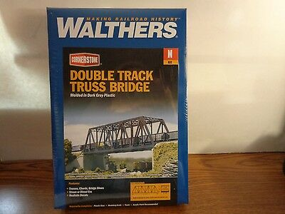 Walther's Cornerstone N Scale Double Track Truss Bridge Kit #3242