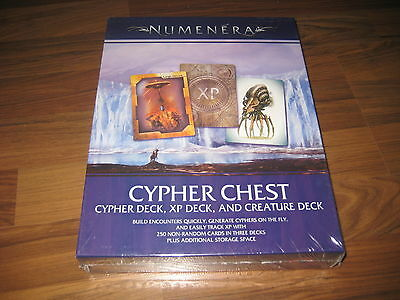 Numenera Cypher Chest Boxed Set Sourcebook Monte Cook Games 2014 New Neu