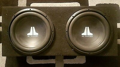 Jl W0 V3's Subwoofers in Box