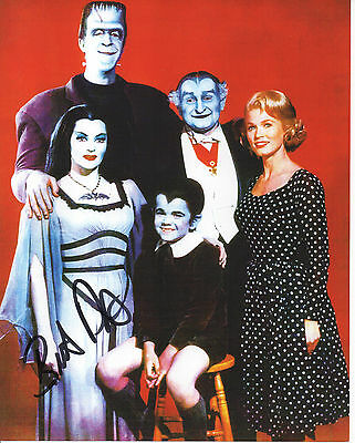 Authentic Butch Patrick - The Munsters  Hand signed 10x8 photo-Autograph