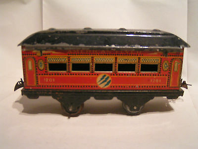 MECCANO/TRAINS HORNBY (?) ech O 1/43,5 - Voiture 1201 American Flyer