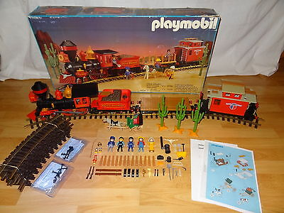 Playmobil 4034 , Steaming Mary , Pacific Railroad , in OVP , passend zu 3770