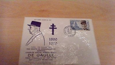 1970 Death Of Charles De Gaulle Hot News Cover No.002