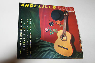 "Angelillo  -  7"" -   (  4  Temas ):"