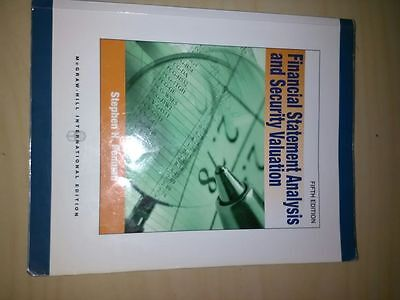 Libro Financial Statement Analysis and Security Valuation