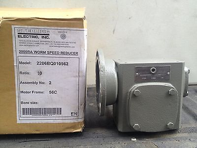 Sterling Electric 2000RA Worm Speed Reducer 10:1 NEW-IN-BOX